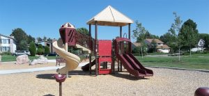 Playground construction project